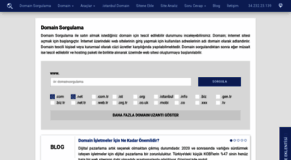 domainsorgulama.net - domain sorgulama  domain sorgula
