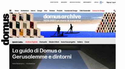 domusweb.it - domus: scopri la storica rivista di architettura, design e arte