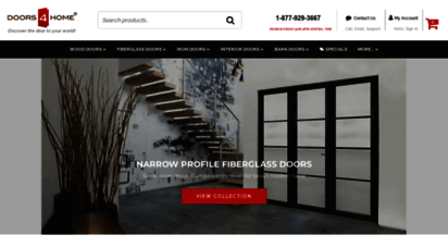 doors4home.com - doors4home: shop exterior, interior and barn doors for your home
