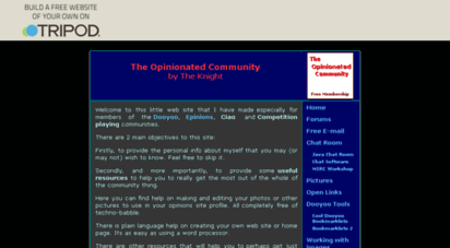 dooyoo-uk.tripod.com - the opinionated community site.