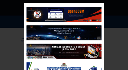 dosm.gov.my - department of statistics malaysia offical portal