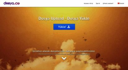 dosya.co - dosya yükle - dosya upload