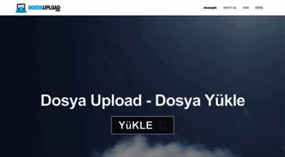 dosyaupload.com - dosya upload - dosya yükle