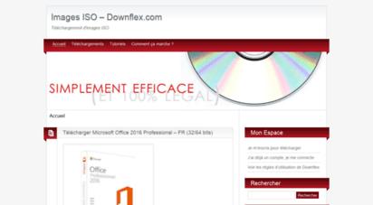 downflex.com - downflex :: téléchargement gratuit iso, pilote driver, logiciel freeware