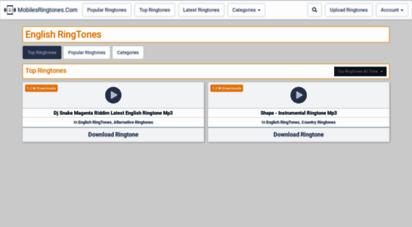English song ringtone romantic | 1mobile. Com.