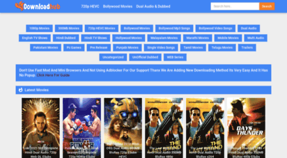 downloadhub.ws - downloadhub  300mb dual audio bollywood movies download
