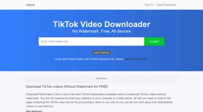 downloadtiktokvideos.com -