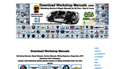 downloadworkshopmanuals.com - download workshop manuals .com