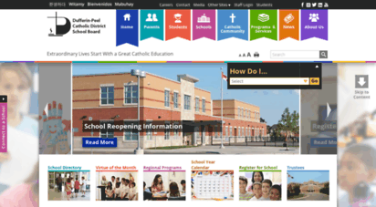 dpcdsb.org - dufferin-peel catholic district school board - catholic high school,kindergarten, mississauga catholic, brampton catholic, caledon catholic - home