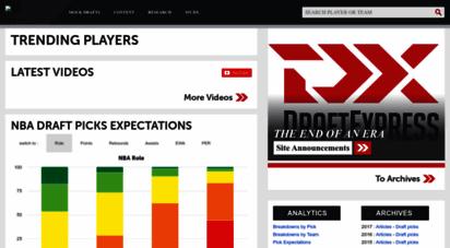 draftexpress.com - draftexpress - nba draft, ncaa and international basketball
