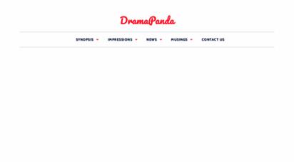 dramapanda.com - dramapanda - asian dramas, celebrities and entertainment news