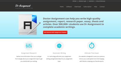 drassignment.com - assignment & essay writing help  auto ssignment writer