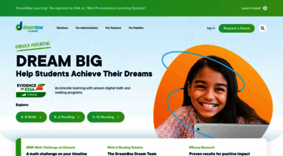 dreambox.com - dreambox learning - online math learning for students, k-8