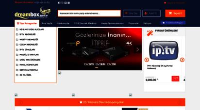 dreambox.gen.tr - dreambox türkiye - dreambox izmir - dreambox iptv ve uydu sistemleri