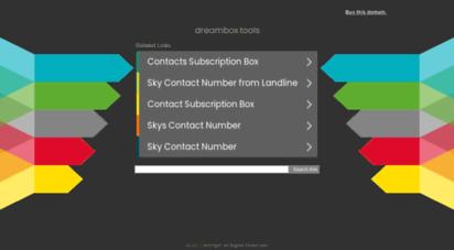 dreambox.tools -