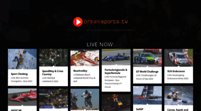 dreamsports.tv - sports live and on demand for free  dreamsports.tv
