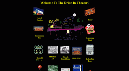 driveintheater.com - drive-in theater