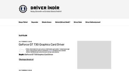 driverdestek.com - driverdestek.com  türkiye´nin en güncel driver indirme sitesi