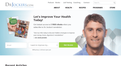drjockers.com - functional nutrition  kennesaw  ketogenic  dr. jockers