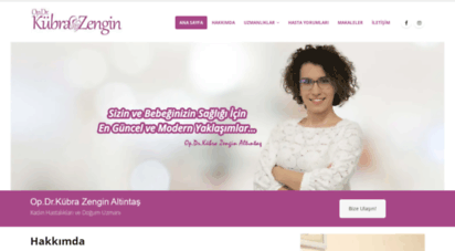 drkubrazengin.com - op.dr. kübra zengin altintaş - kadın hastalıkları ve doğum uzmanı ankara