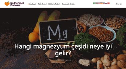 drmehmetportakal.com - ana sayfa - dr. mehmet portakal