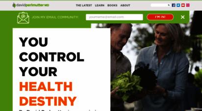 drperlmutter.com - gluten free diet & the food for a healthy brain - dr. perlmutter