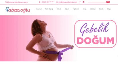 drtugrulabacioglu.com - kadın hastalıkları ve doğum uzmanı - dr. tuğrul abacioğlu