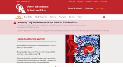 dsb1.ca - district school board ontario north east - district school board ontario north east