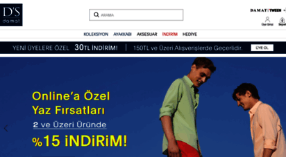 dsdamat.com - d`s damat  erkek giyimde şıklığın online adresi