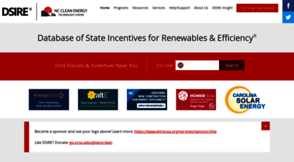 dsireusa.org - database of state incentives for renewables & efficiency® - dsire