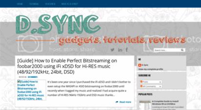 dsync.blogspot.com - d.s の space