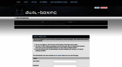 dual-boxing.com - dual-boxing.com - multiboxing