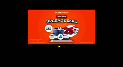 dumetschool.com - kursus website, digital marketing, desain grafis terbaik 2020