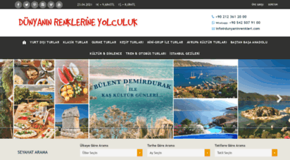 dunyaninrenkleri.com - koptur seyahat / yurtdışı turlar, yurt dışı turları, seyahat, seyahatler, turizm