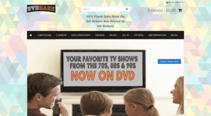 dvdrare.com - dvd rare!, shop online for all your favourite shows from the past. cartoons, docmentaries, music, comedy, sit-coms, family viewing, educational, drama, action, western, and a lot more...
