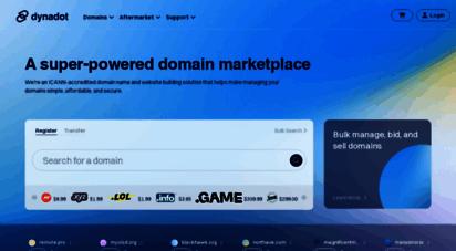 dynadot.com - domain name registration : website builder : web hosting : ssl certificates : dynadot.com