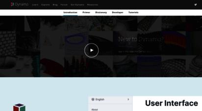 dynamobim.com - visual scripting environment for designers  dynamo