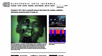 eai.org - electronic arts intermix