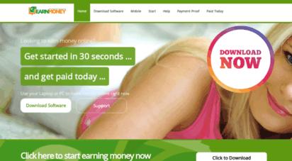earnmoney.network - earn money online in 30 seconds  earn money network