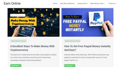 earnonline.co - ways to make money online  earn money  earn online
