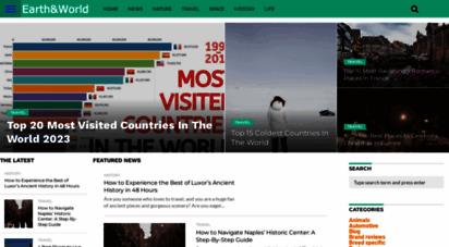 earthnworld.com - earth and world 2020 - popular magazine