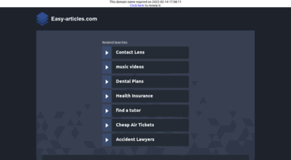 easy-articles.com - easy articles - article distribution, article submission - easy articles