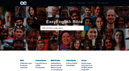 easyenglish.bible - easy english bible with free commentaries and studies