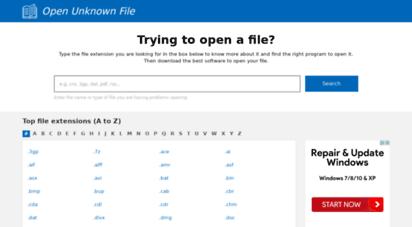 easyfileopener.org - open files easily: open any file extension on windows