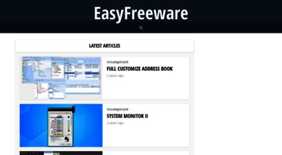 easyfreeware.com - easy freeware downloads