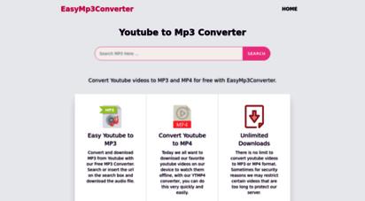 easymp3converter.com - easy youtube to mp3 converter  easymp3converter