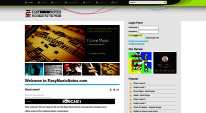 easymusicnotes.com -