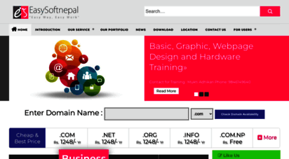 easysoftnepal.com - best web design and web hosting company in nepal  easysoftnepal