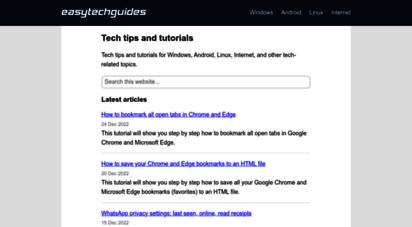 easytechguides.com
