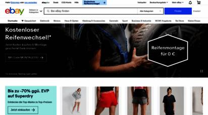 ebay.de - elektronik, autos, mode, sammlerstücke, möbel und mehr online-shopping  ebay